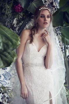 BRIDAL HEADPIECES BY OLIVIA THE WOLF AT MA CHÉRIE BLEUE www.elegantwedding.ca