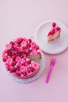 cherry bombe jubilee cake