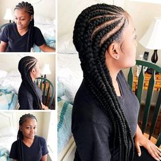 #beautiful#braids#natural#nice#hair#fashion#pin