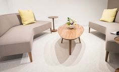 Find out the top NeoCon trends spotted by the Cambria team. The commercial design trends from NeoCon 50 in 2018 are likely to be seen in 2019 and beyond. Commercial Office Space, Commercial Design, Trade Show, Design Trends, Modern Furniture, Tables, Cocktail, Interior Design, Unique