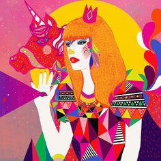 Eccentric, Psychedelic and Idiosyncratic Diela Maharanie || Crafturday Blog