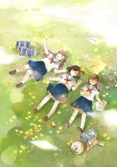 Image discovered by T H U. Find images and videos about girl, cute and anime on We Heart It – the app to get lost in what you love. Best Friends Cartoon, Friend Cartoon, Friend Anime, Anime Girl Cute, Kawaii Anime Girl, Anime Art Girl, Anime Love, Anime Girl Drawings, Cute Drawings