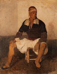 Nikiforos Lytras (Greek, Zeybek x cm. Greek Independence, Famous Portraits, Art School, Painters, Revolution, Greece, Auction, Europe, Fine Art