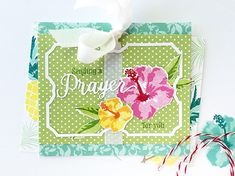 Sending A Prayer For You Card by Danielle Flanders for Papertrey Ink (July 2016)