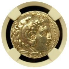 Alexander the Great Silver Tetradrachm NGC Choice Extremely Fine