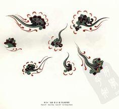 dunhuang caves Dunhuang, Chinese Patterns, Japanese Patterns, Hand Eye Tattoo, Tibetan Art, Buddhist Art, Chinese Painting, Traditional Art, Asian Art