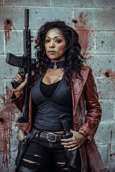 Z Nation  Lt. Roberta Warren Kellita Smith