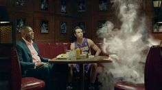 """NBA BIG """"DISAPPEARING ACT""""  AGENCY: Goodby, Silverstein & Partners Executive Creative Director: Jeff Goodby Creative Director: Nick Klinkert Creative Director: Adam Reeves Creative Director: Marty Senn Copywriter: Justin Pedone Art Director: Dustin Blouse Producer: Benton Roman Executive Producer:  Tod Puckett Director of Broadcast Production: Cindy Fluitt Account Director: Jason Bedecarre Account Manager: Janice McManemy Assistant Account Manager: Heather Morba S…"""