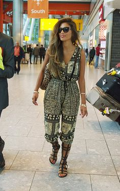 Icon of Summer Style Nicole Scherzinger: Even an airport is her runway. Does she ever get it wrong? #offdutychic