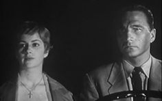 Nancy Malone and Eric Fleming in Fright (1956 film)