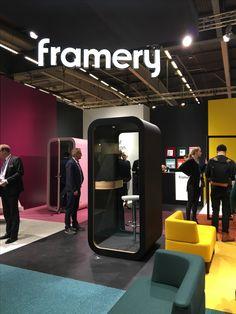 Framery O at Stockholm Furniture Fair 2017