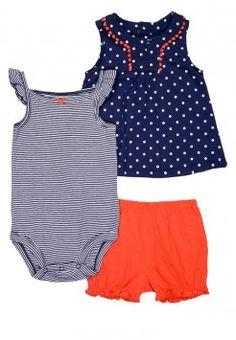 Carter's - SET - Shorts - navy