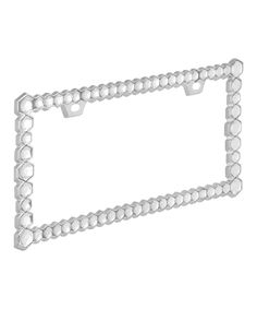 Another great find on #zulily! Chunky Diamond License Plate Frame by Bell Automotive #zulilyfinds