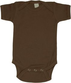 Chocolate Baby Onesie  Short Sleeve >>> Be sure to check out this awesome product.