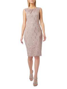 Kleid aus hochwertiger spitze