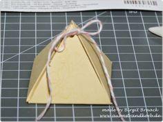 Schönes ausm Strandkorb, Pyramiden Box, Anleitung, Stampin Up