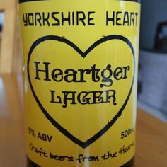 This is how all lagers should taste. Good hop notes. - Drinking a Heartger Lager by Yorkshire Heart
