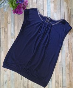 Ann Taylor LOFT Navy Blue Scoop Neck Top Shirt Blouse Size Small 1/4 Back Zip-up | Clothing, Shoes & Accessories, Women's Clothing, Tops & Blouses | eBay!