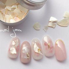 Pin by linh phan on Nail in 2020 Fancy Nails, Love Nails, Pastel Nails, Pink Nails, Pretty Nail Designs, Nail Art Designs, Gorgeous Nails, Pretty Nails, Japan Nail Art