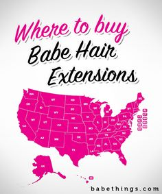 Where to by Babe Hair Extensions