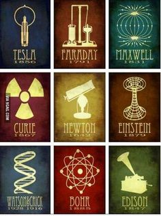 Cool science posters