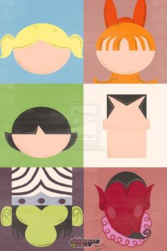 The PowerPuff Girls Poster Art.