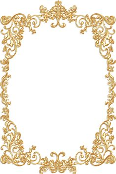 Ornate Vintage Frame