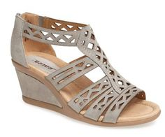 Pretty #wedge #sandals with cut out detail @Nordstrom  http://rstyle.me/n/fkycwnyg6