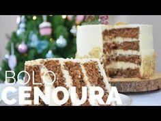 BOLO DE CENOURA NO ESTILO INGLÊS (nozes, especiarias e cream cheese) BELLARIA CHOCOLATIER - YouTube