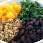 Celebrate the flavors and colors of Fall in this healthy and hearty bowl