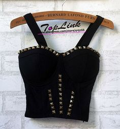 Studded Crop top – SEKclothing