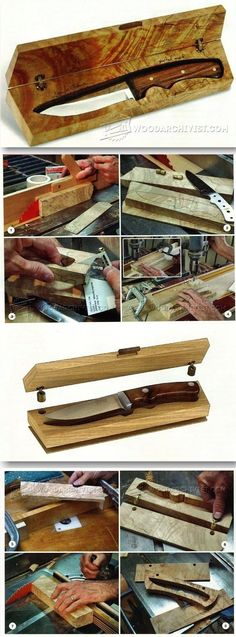 Knife Box Plans - Woodworking Plans and Projects   WoodArchivist.com