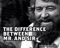 The difference between Mr. And Sir