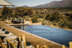 Oomanda: Discover The Luxury Safari Lodge by Zannier Hotels ⇒ Today, Best Design Guides brings you a luxury travel guide to one of the most recent luxury sa New Safari, African Interior, Hotels, Thatched Roof, Treatment Rooms, Le Havre, Game Reserve, Oh The Places You'll Go, Vacation Places