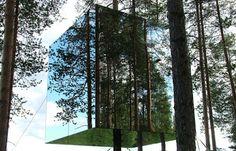 Mirror Cube Hotel, Sweden