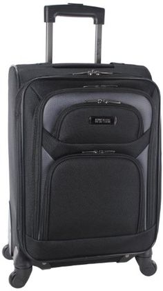 Kenneth Cole Reaction Journey To The Past Four Wheel Expandable Upright Carry On Black One Size -- You can get more details by clicking on the image.