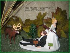 Redneck Humorous Deer Hunter Hunting Wedding by AREDNECKWEDDING4U, $57.99