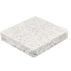 Pavestone Granetta Square 10 in. x 10 in. x 2 in. Salt n Pepper Concrete Step Stone / 83 sq. / - The Home Depot Granite Paving, Paving Slabs, Garden Pavers, Paver Walkway, Concrete Steps, Concrete Pavers, Ashlar Pattern, Backyard Pavilion, Landscaping Supplies
