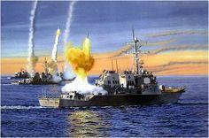 Luftwaffe, Military Art, Military History, Navy Coast Guard, Navy Ships, Modern Warfare, Us Navy, Battleship, Concept Art