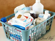 The Good Wife: Week 24 of the Weekly Organization Challenge-First aid Kit