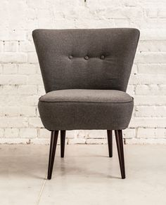 'Bob' chair by Gutmann factory material: wood and fabric