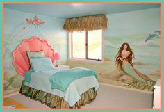 Mermaid bedroom!