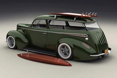 awesome ! ...no !  AWESOME !!! FORD SHOULD BUILD THESE AGAIN . SO COOL ! I LOVE THE WOOD SURF BOARDS TOO !