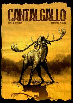 portada ciervo cantalgallo comic online gratuito