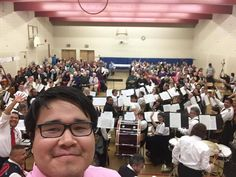 Salvationists in Northern B.C.--from corps in Prince Rupert, Terrace, Gitwinksihlkw, Hazelton and Sik-e-dakh (Glen Vowell)--form a 60-member band for Easter. Thanks for the selfie, Alex Stoney (Youth & Children's Ministry Coordinator in the Upper Skeena Circuit)! /a.10150121155608202.280241.104408083201/10152788991773202/?type=1