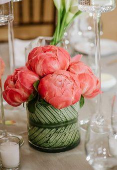 Composition florale printanière en 50 idées pour décorer la maison!