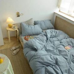 Blue Bedding Sets, Queen Bedding Sets, Blue Duvet, Colorful Bedding, Teen Bedding, Unique Bedding, Room Ideas Bedroom, Bedroom Inspo, Bedroom Decor