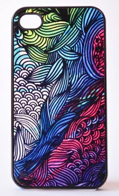 Psychedelic Chaos iPhone Case