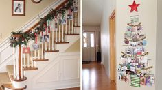 5 pretty (and easy!) ways to display holiday cards