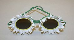 Sunglasses Marcel Rochas  Date: ca. 1939 Culture: French Medium: clay, metal Accession Number: 1984.170